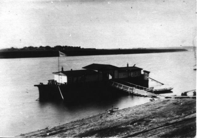 Пристань Шагарово