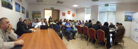 Участники Литературного слёта обсуждают культурные проекты Конаковского района