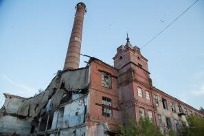 Исторический корпус завода сегодня. Фото Екатерины Фроловой.