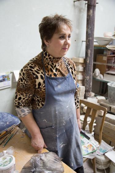Ирина - её коллега. Фото Екатерины Фроловой.