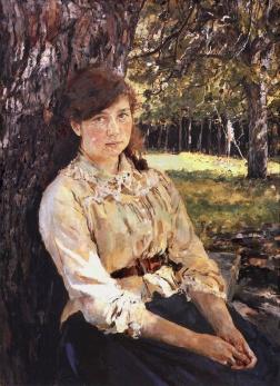 В.А.Серов. Девушка, освещенная солнцем