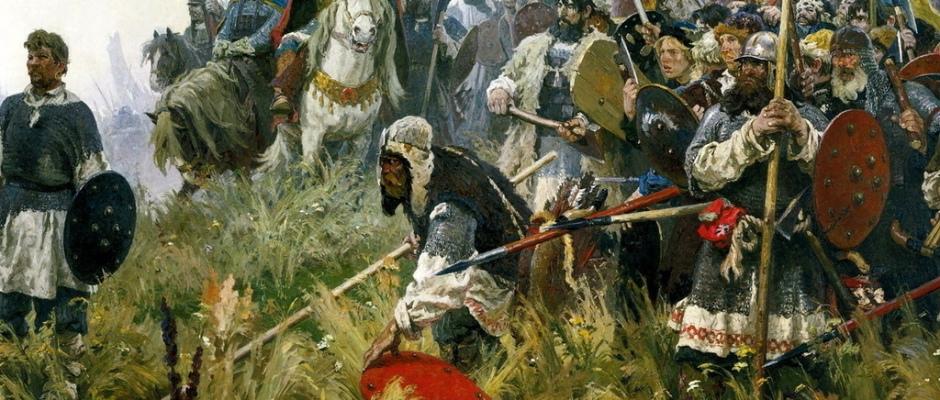 Куликовская битва. Где-то среди этих воинов мог быть и предок Г.В.Чагина