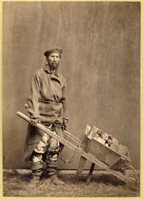 Каторжанин XIX века. Фото с сайта МирТесен