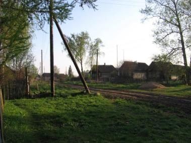 Деревня Кошелево и в наши дни недалеко ушла от поселения екатерининских времён.