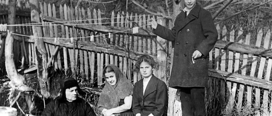 Адина Лоренцовна с мужем и детьми на Алтае