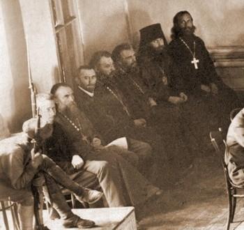 священнки на скамье подсудимых
