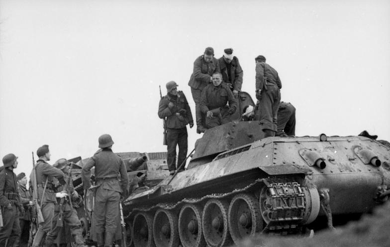 1941. Оккупация Калинина