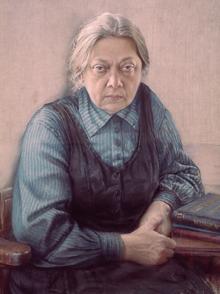 Надежда Крупская в Радченко