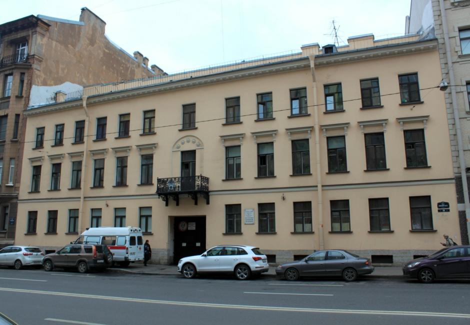Дом Заблоцкого-Десятовского приобретённй им в 1851г.