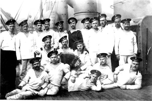 матросы крейсера варяг