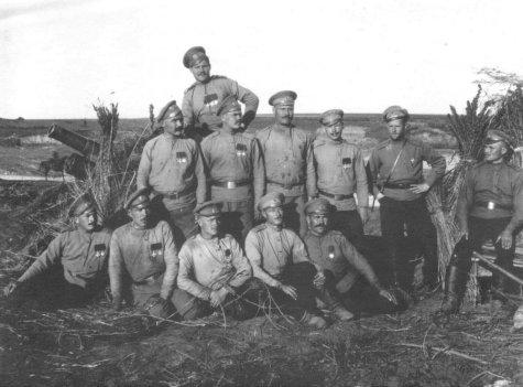 Солдаты первой мировой