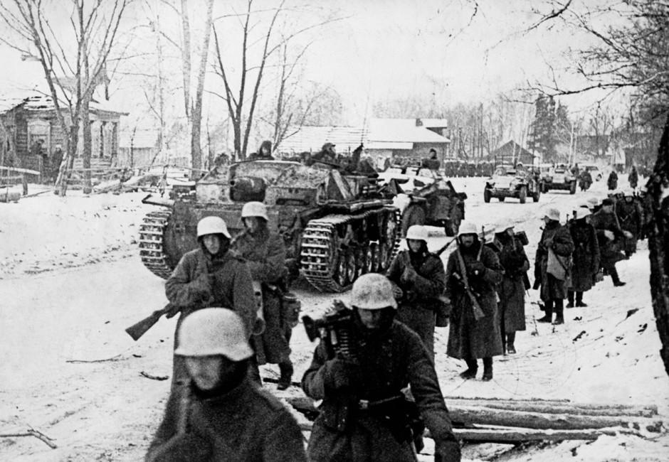 Войска Вермахта под Москвой