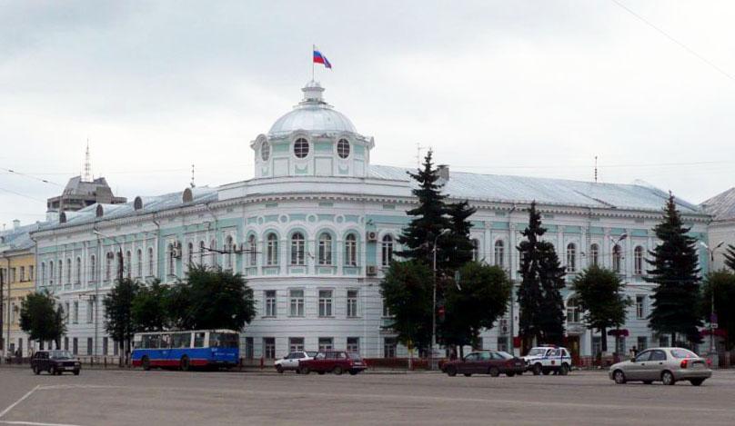 Здание правительства Тверской области в наши дни
