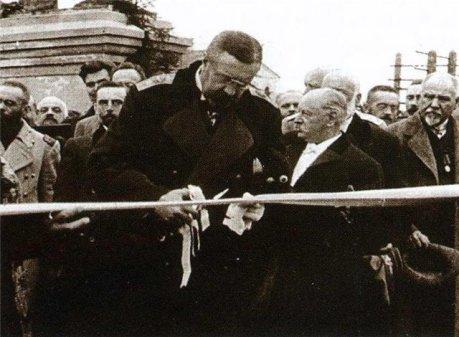 На открытии моста через волгу. г. Ржев. 1911 г.