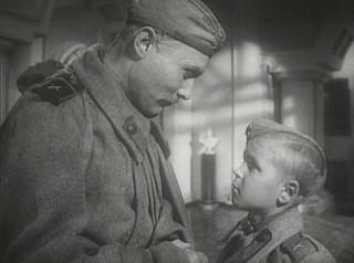 "Кадр из фильма ""Сын полка"".1946 г."
