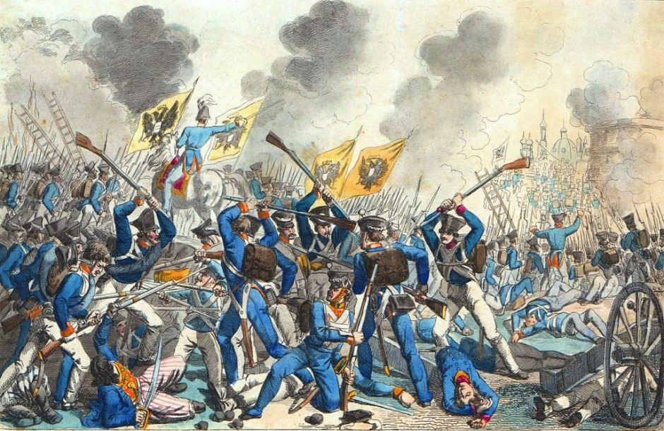 Штурм Варшавы российскими войсками в сентябре 1831 года